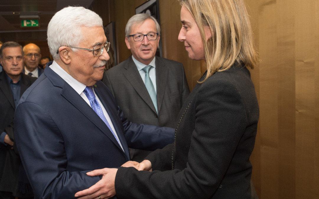 With president Abbas for the two-State solution