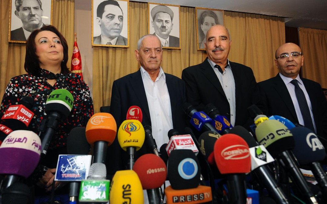 A quick thought on the Nobel Peace Prize to Tunisia's National Dialogue Quartet
