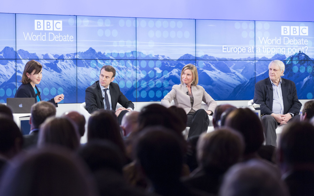 At the World Economic Forum in Davos: a stronger Europe to save Europe