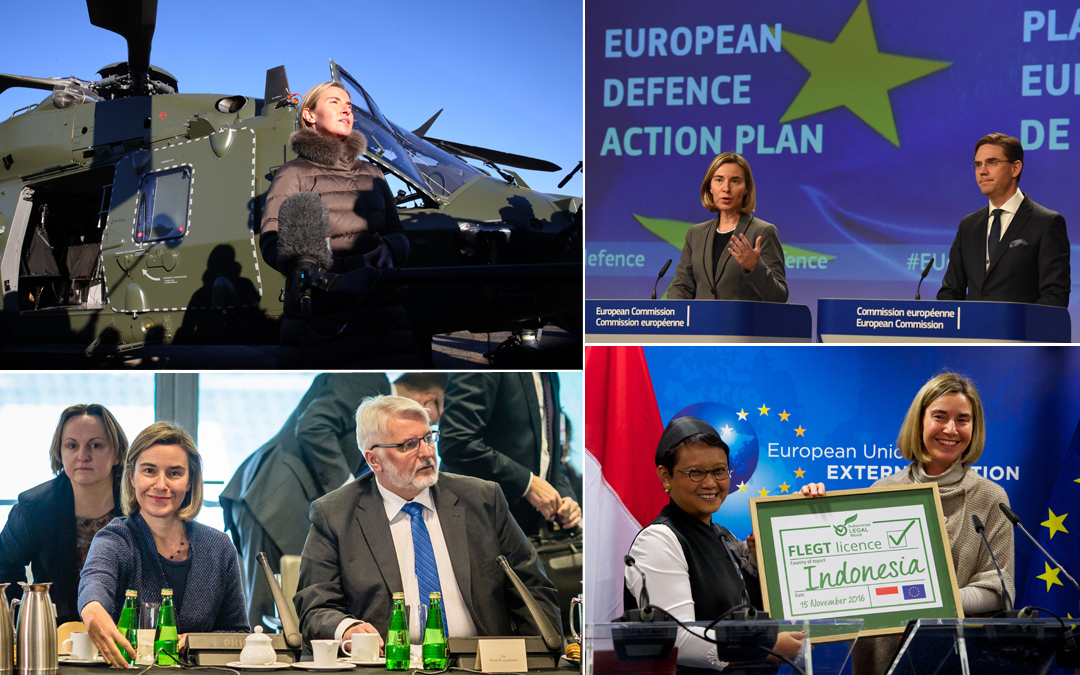 Defence and development: concrete action for a stronger Europe