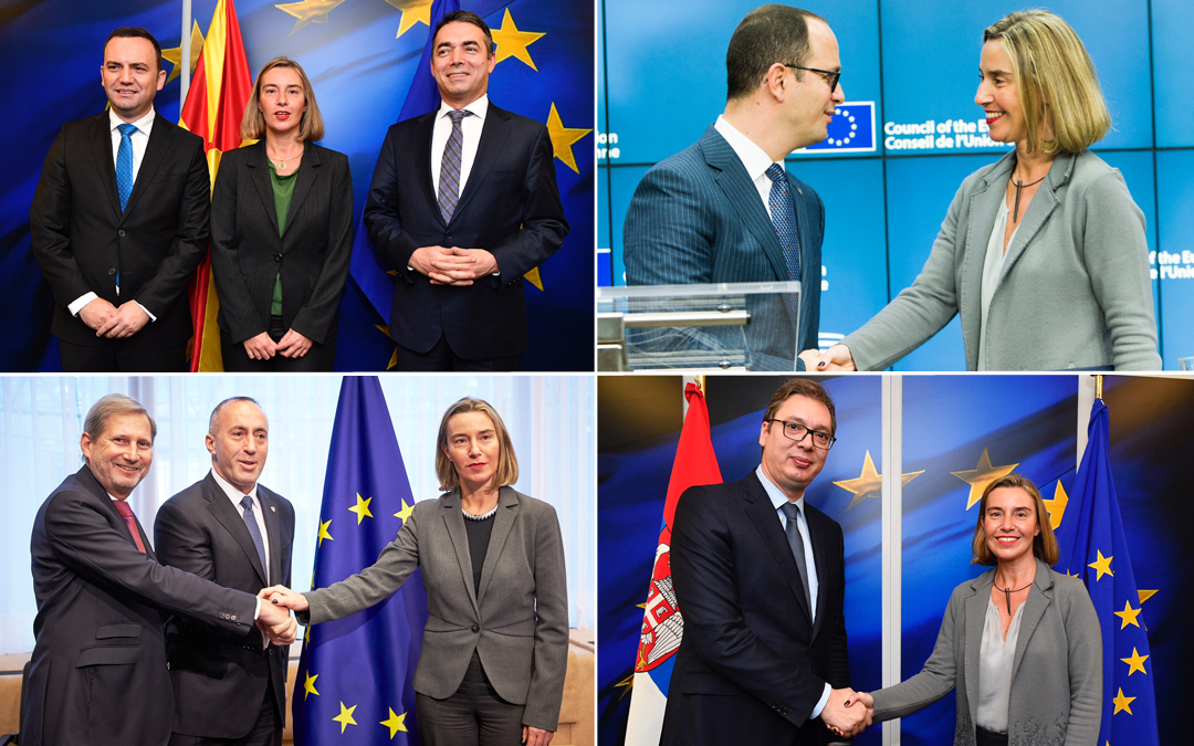 One week at work with the Balkans, a crucial year for the region