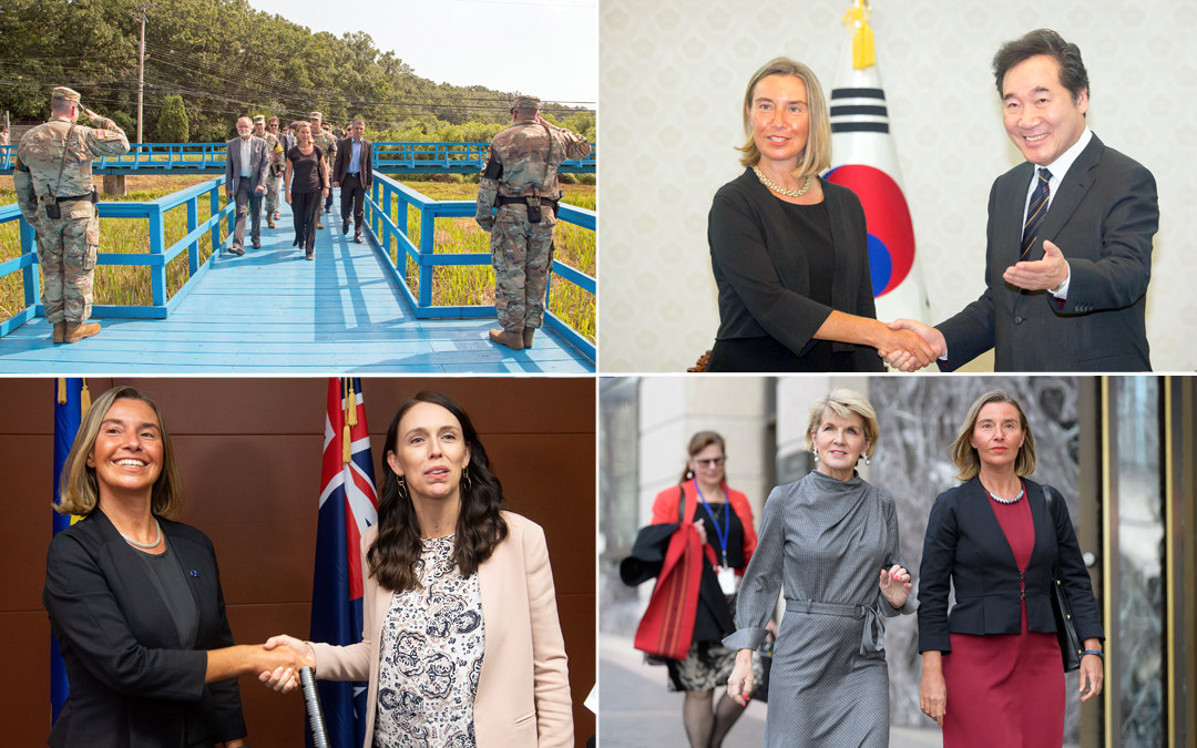 Strong partnerships for difficult times. At work for Korea and Iran