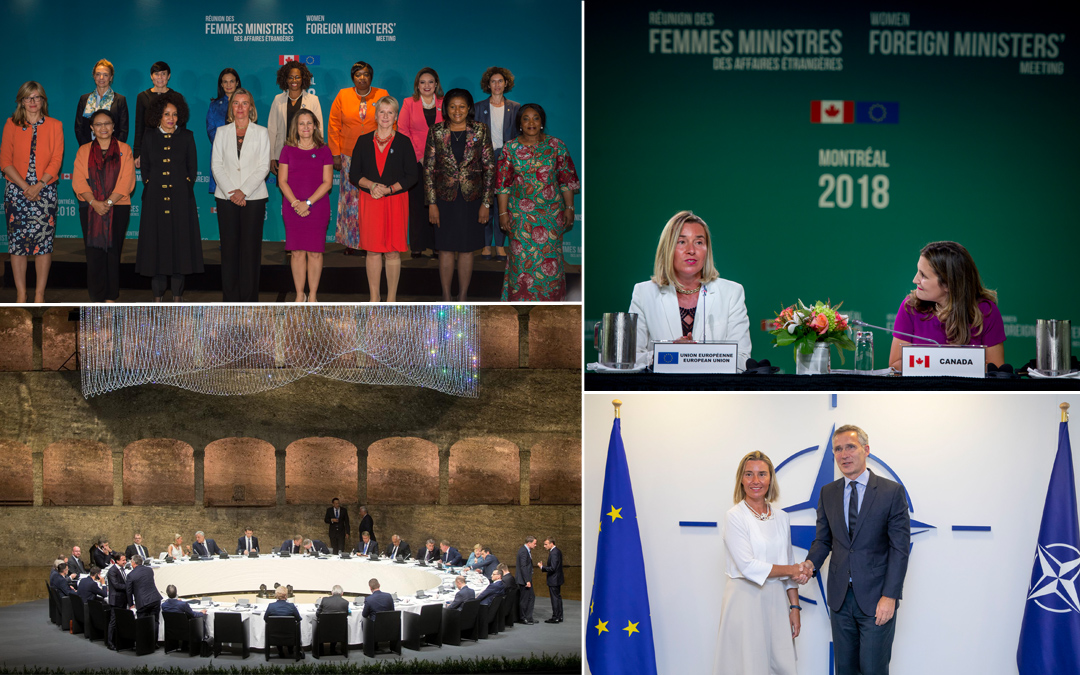 Why a meeting of Women Foreign Ministers