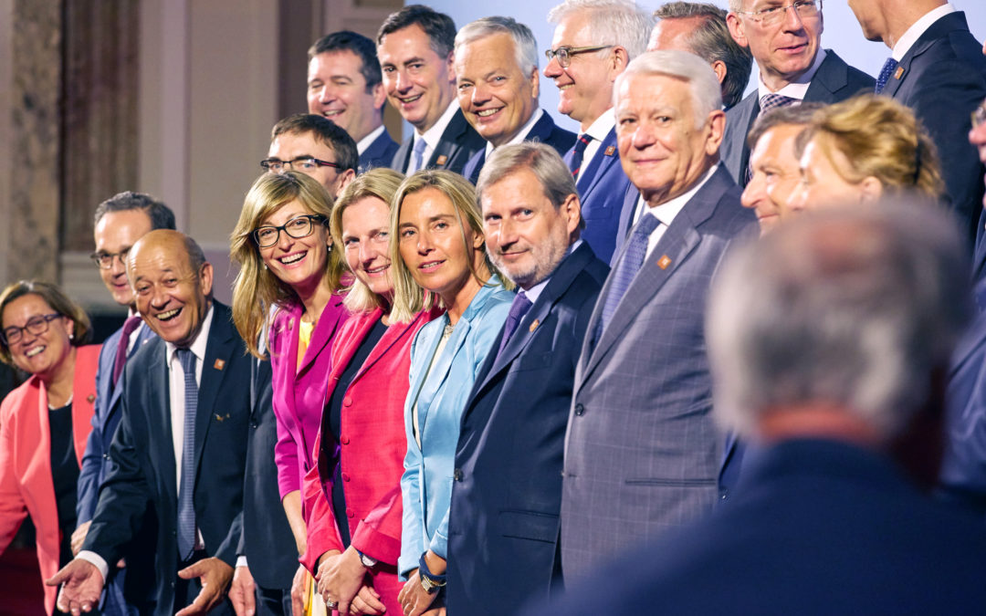 In Vienna, with our eyes on the Balkans, the Middle East and Iran