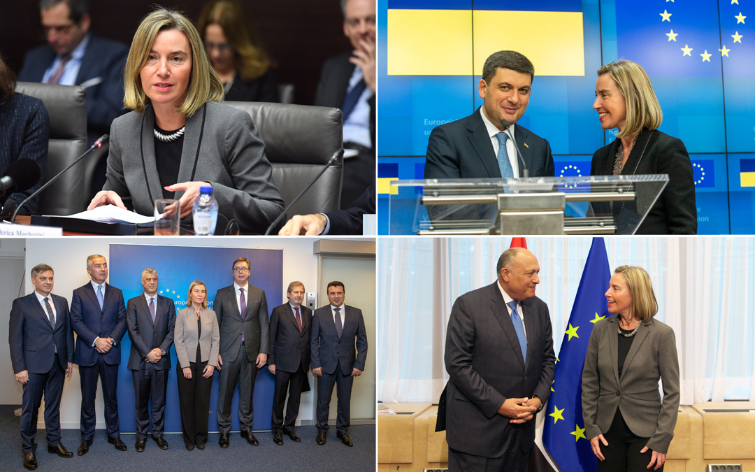 At work on the Balkans, Ukraine and the Middle East