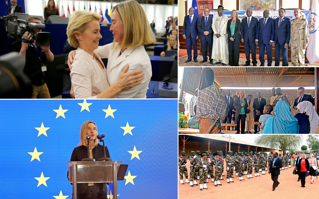 From Africa to the Gulf. Then the new European Parliament's first plenary