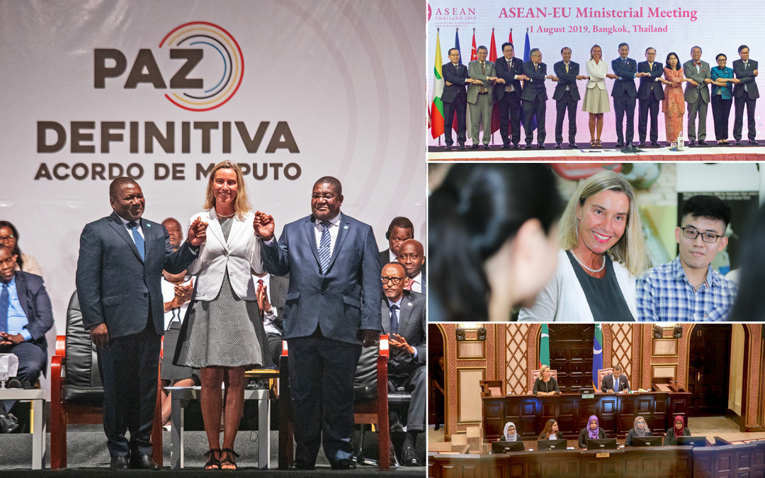 From South-East Asia to Africa, for peace in Mozambique